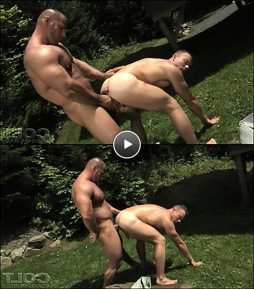 sexy guys with muscles video